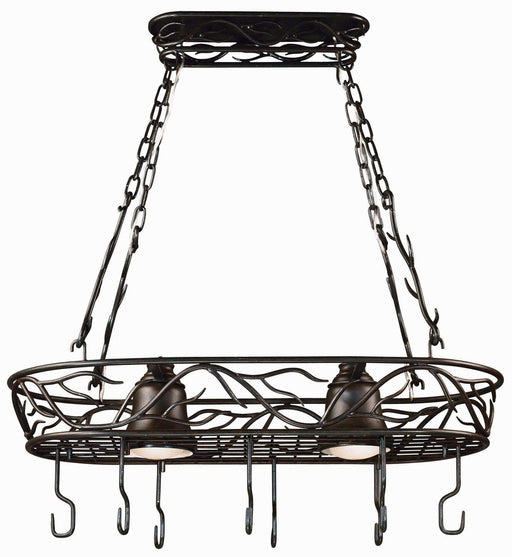 Twigs 2 Lt. Pot Rack