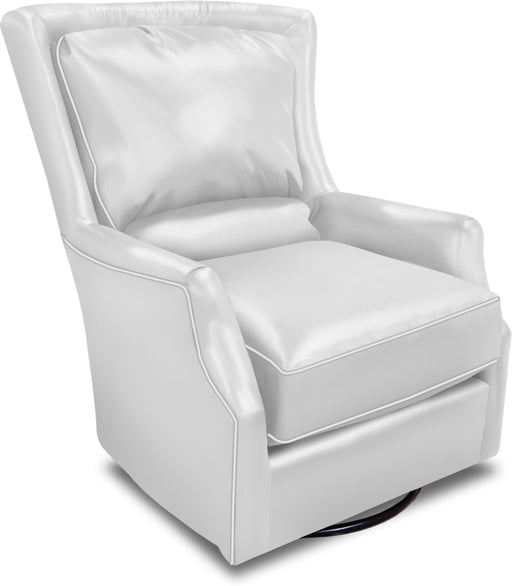 Louis Swivel Leather Chair
