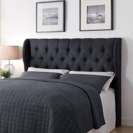 Upholstered Headboard, Charcoal (F/Q/K/CK)