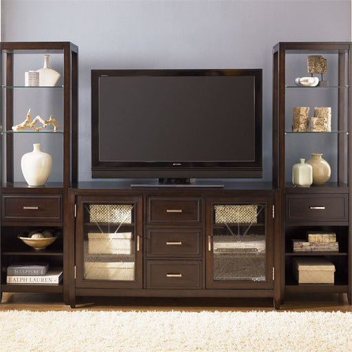 Entertainment Center With Piers (318-Entw-Ecp)