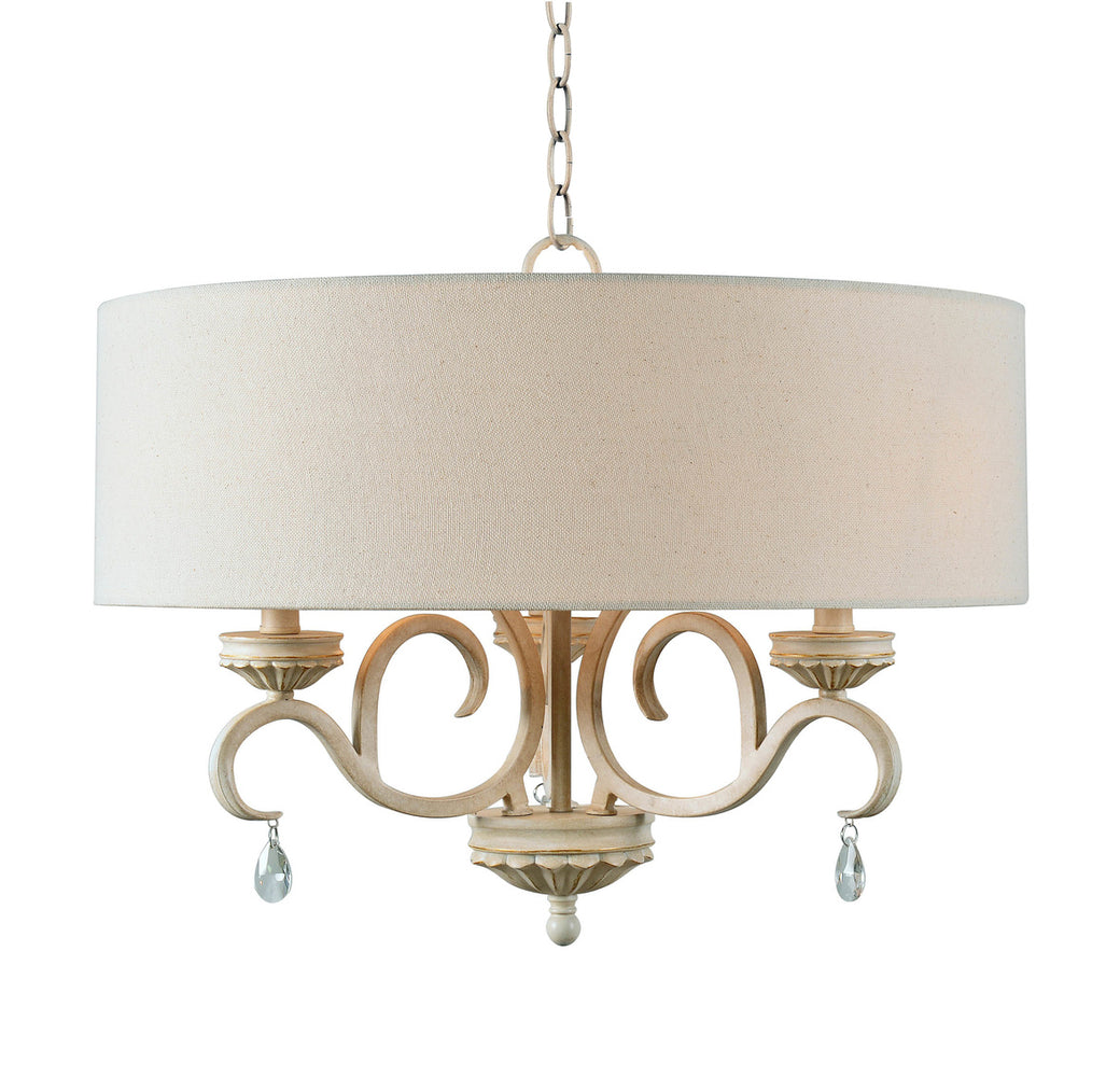 Marcella 3 Lt Drum Chandelier