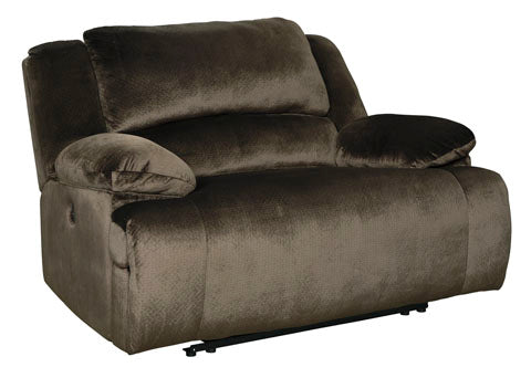Zero Wall Wide Seat Recliner, Chocolate