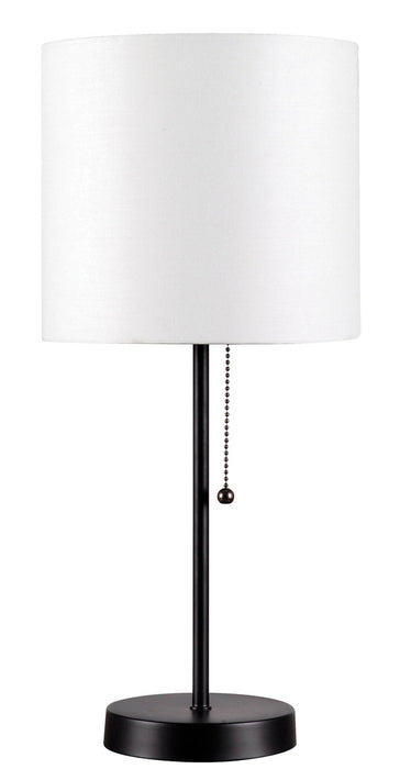 Table Tom White Accent Lamp