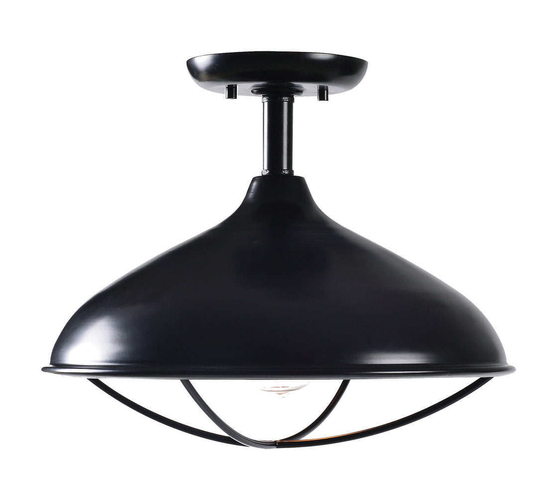 Warner 1 Light Semi Flush