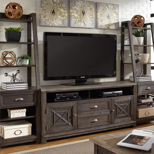 Entertainment Center With Piers (422-Entw-Ecp)