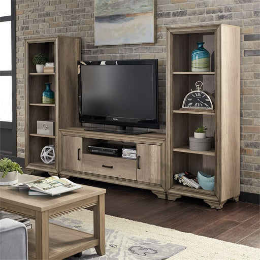 Entertainment Center With Piers (439-Entw-Ecp)