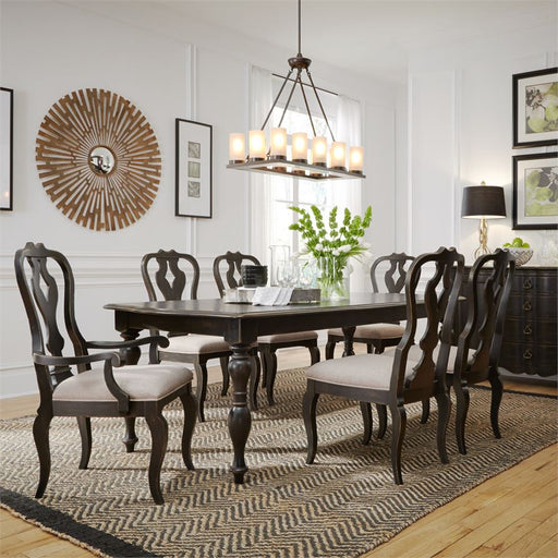 Chesapeake (493-DR) 7 Piece Rectangular Table Set