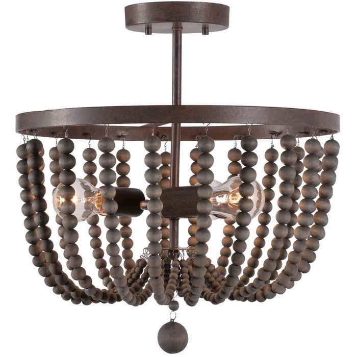 Dumas3 Light Wood Bead Semi Fl