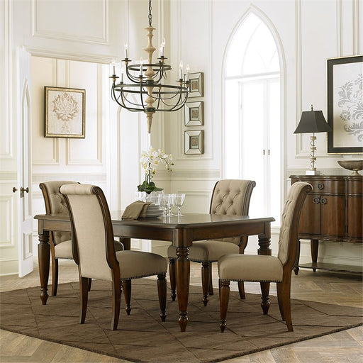 Cotswold (545-DR) 5 Piece Rectangular Table Set