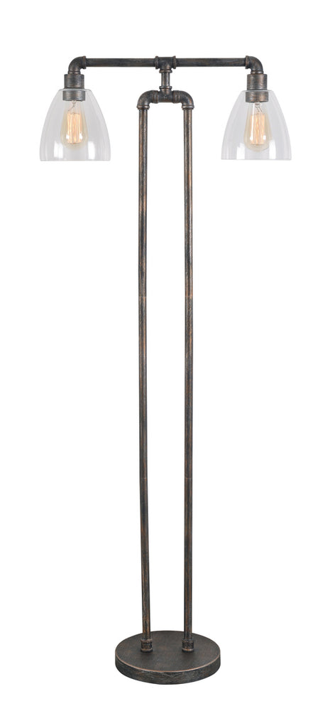 Steam Fitter Floor Lamp