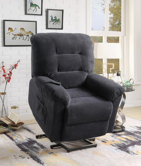 Power Lift Recliner, Charcoal