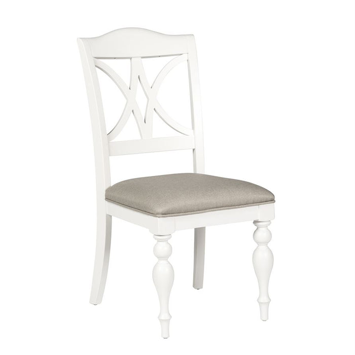 Summer House (607-CD) 5 Piece Pedestal Table Set