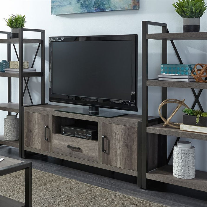 Entertainment Center With Piers (686-Entw-Ecp)