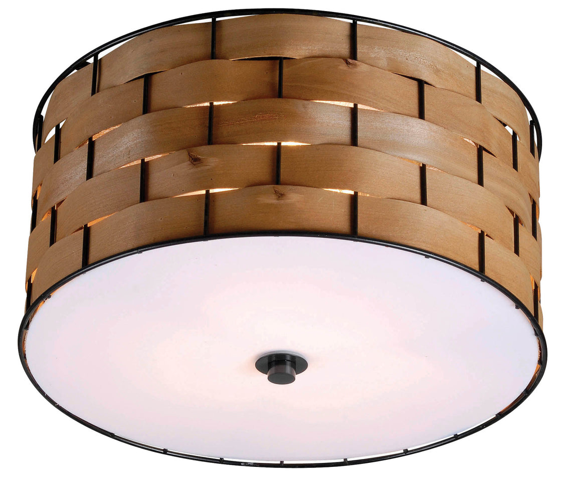 Shaker 3 Light Flush Mount