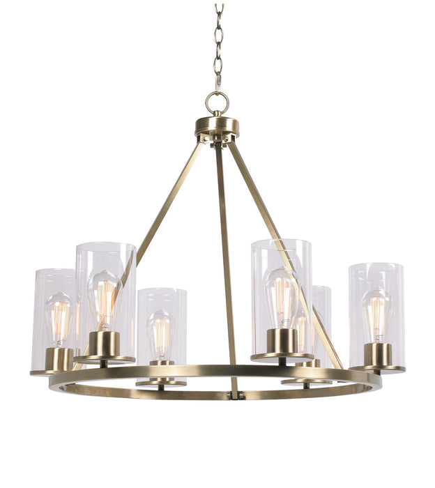 Hixon  6 Light Chandelier