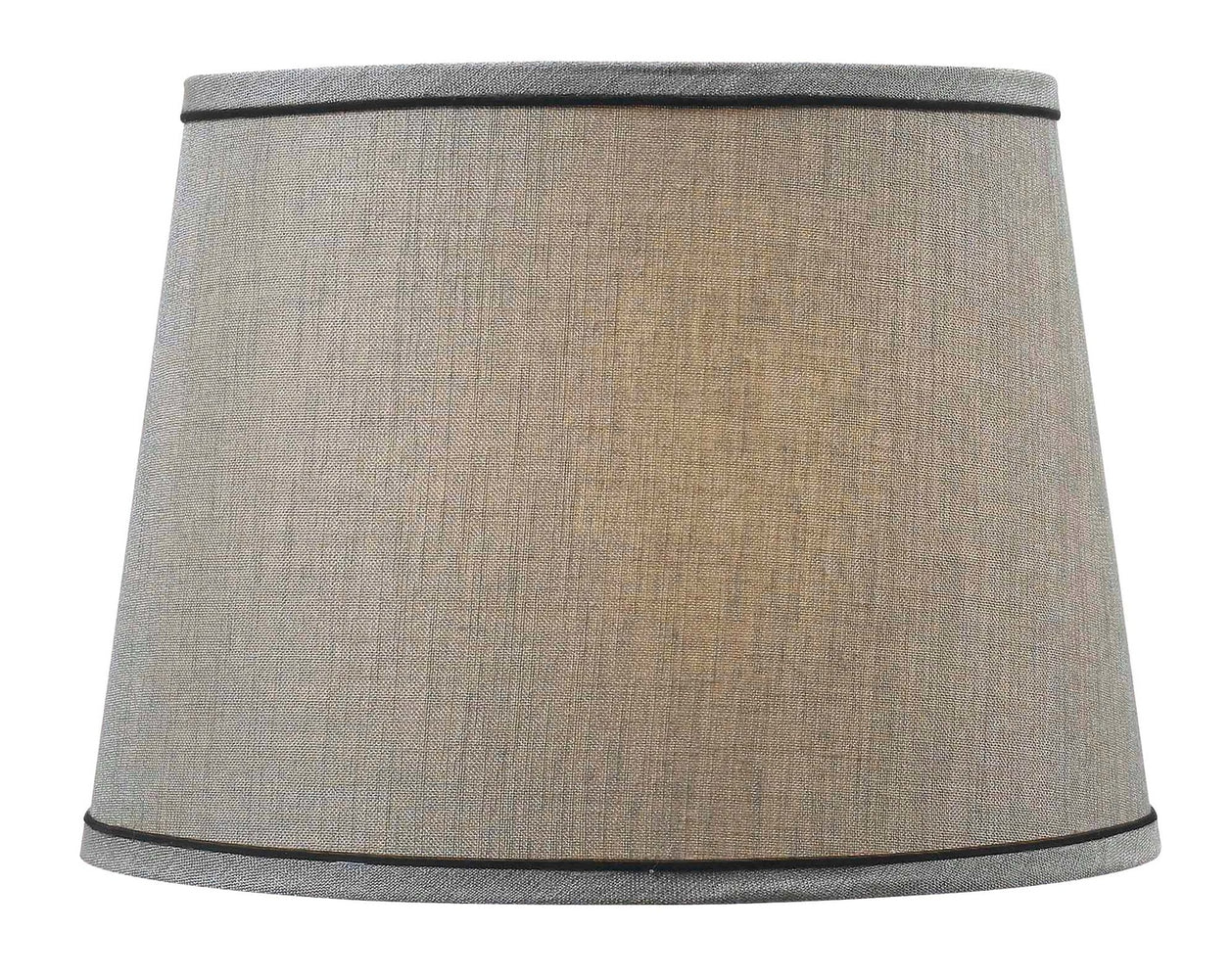 Silver Tapered Drum Shade