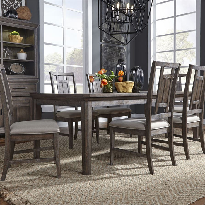 Opt 7 Piece Rectangular Table Set (823-Dr-O7Rls)