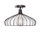 Cagney 1 Light Semi Flush