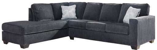 Flyleaf Sectional, Slate
