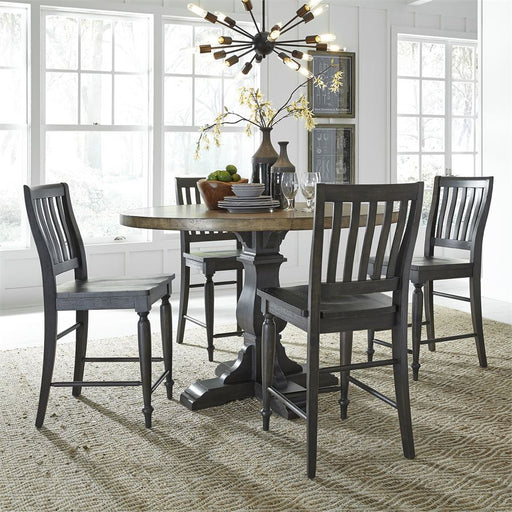 5 Piece Gathering Table Set (879-Dr-5Gts)
