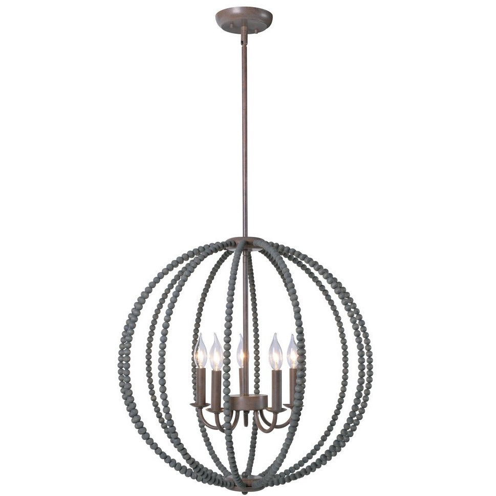 Sycamore 5 Light Chandelier