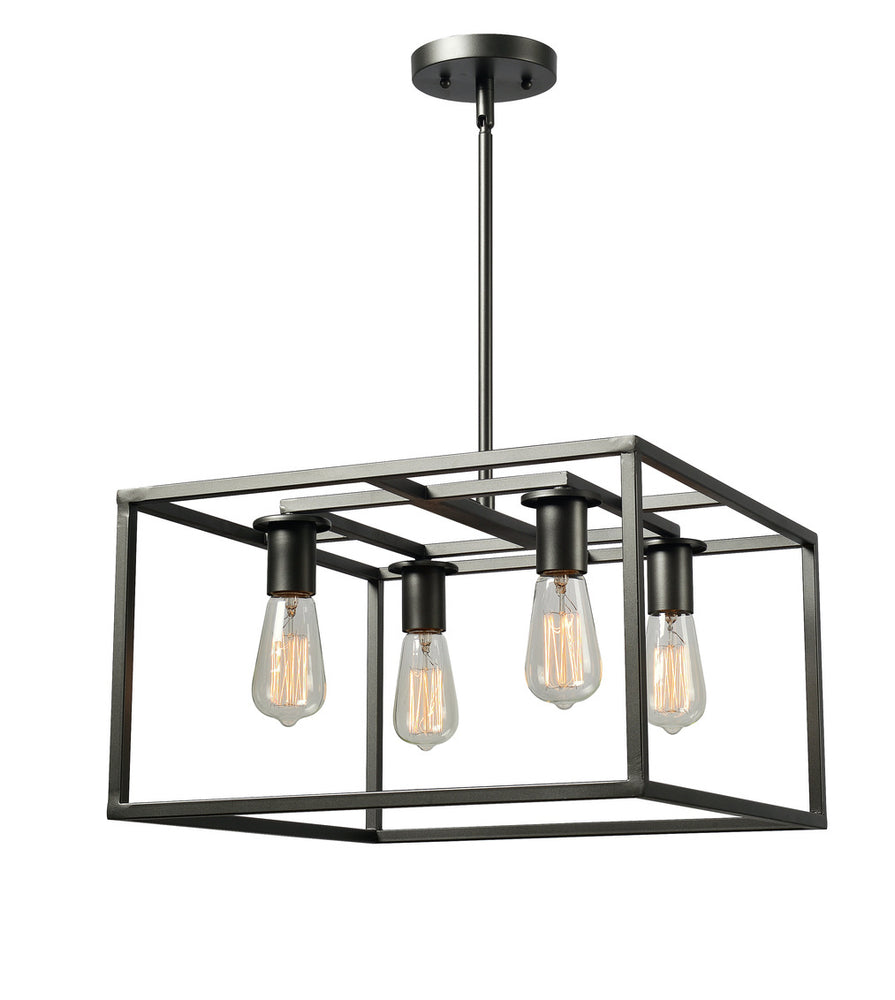 Cubed 4 Light Chandelier