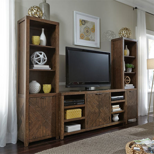 Entertainment Center With Piers (96-Entw-Ecp)