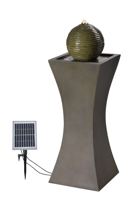 Bubble Outdoor Solar Fountain