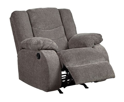 Rocker Recliner, Gray