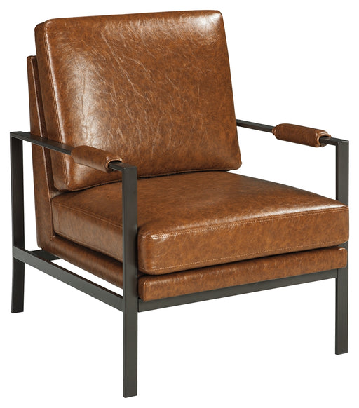 Peacemaker Metal Arm Accent Chair