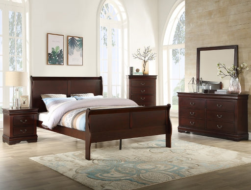 Louis Philip Bedroom Group Cherry