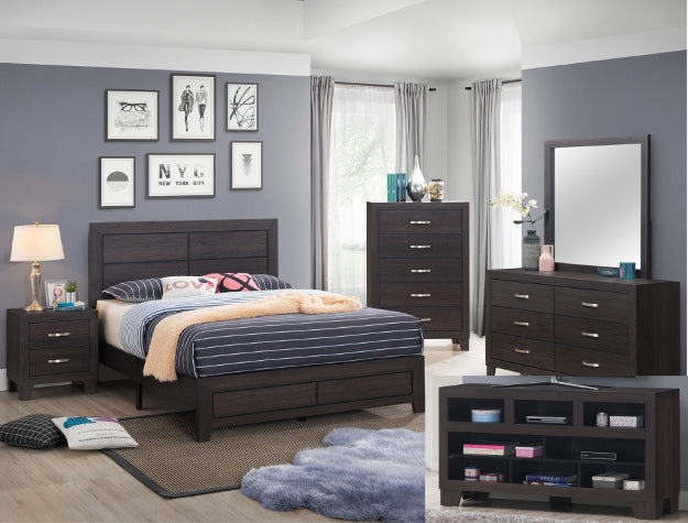 Hopkins Bedroom Group with Media Console