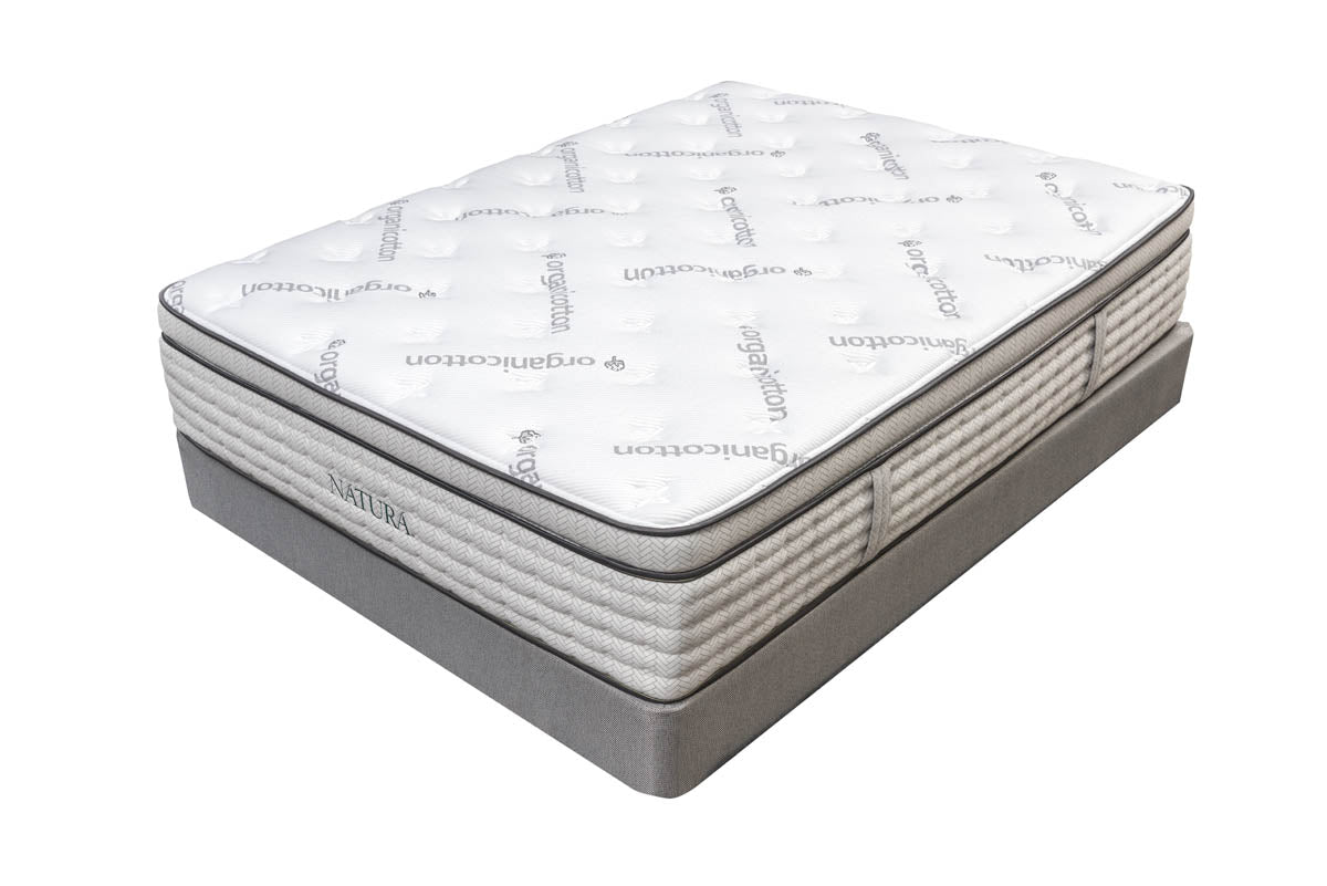 Balsam Euro Top Organic Talalay Latex Hybrid Mattress