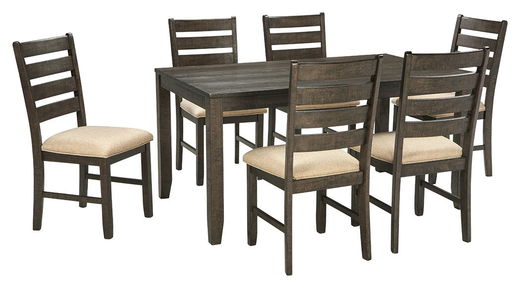 Dining Room Table Set Brown