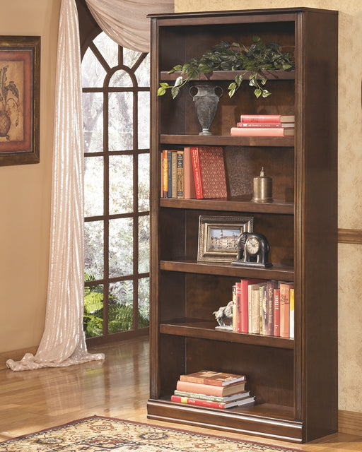 Large Bookcase Medium Brown