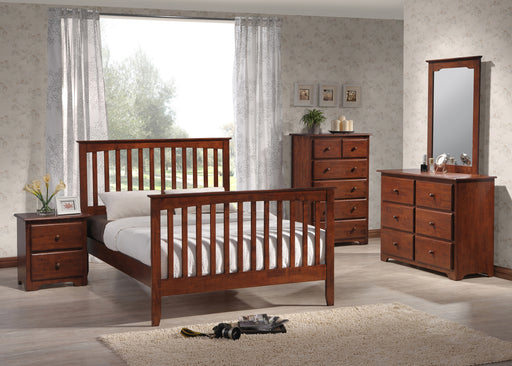 M18 Merrimack Bedroom Group, Merlot