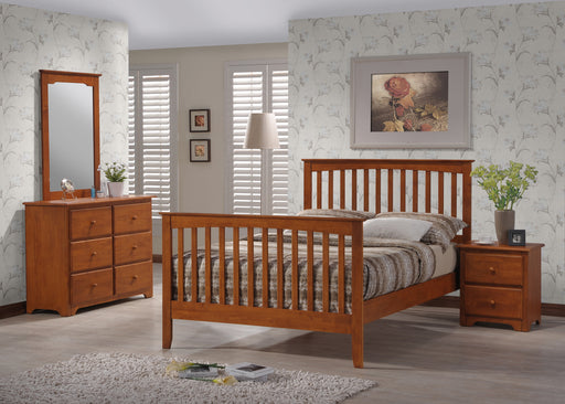 Honey Oak Merrimack Queen Bedroom Set