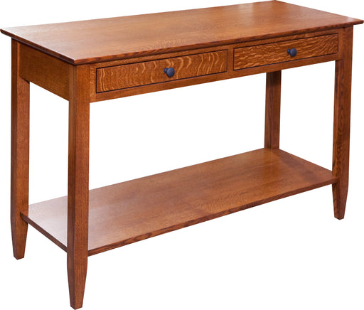 Amish KV Shaker Console Table