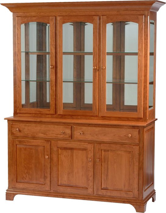 NDH Amish Customizable Deluxe Cabinet - Glass Sides