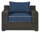 Luke Outdoor sofa set with cushion