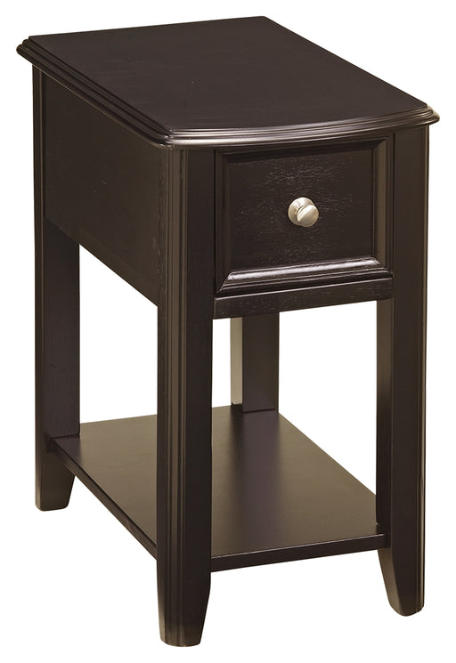 "Breegin ""Almost Black"" Chairside Table"