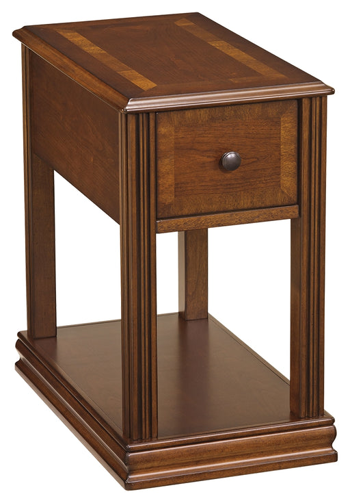 Breegin Brown Chairside Table