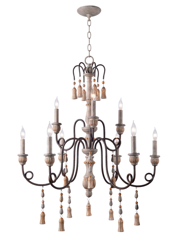 Alexandra 9 Light Chandelier