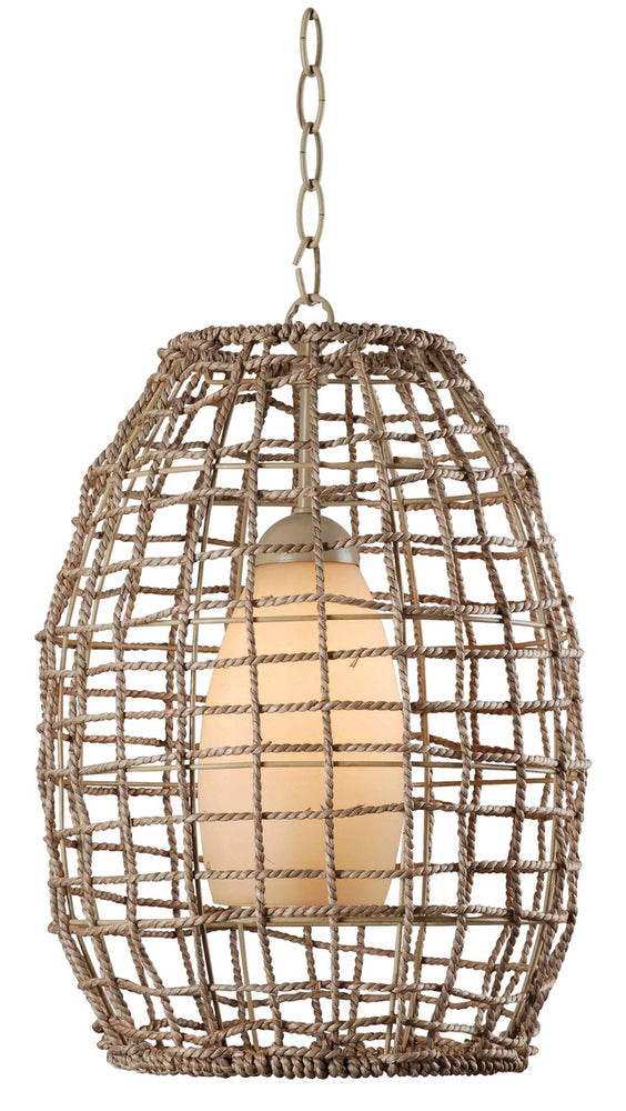 Seagrass 1 Light Pendant
