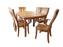 Amish Made Sap Cherry Custom Dining Room Set with Storage Leaves Gear Glides Maple Elm Oak QSWO Over 50 Stains