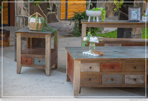 Antique Multi-Drawer Occasional Tables