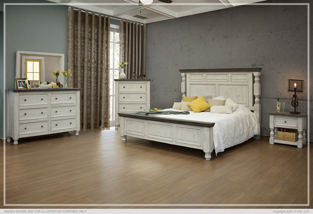 IFD 4690 Stone Bedroom Group