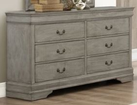 B3550 Louis Philip Bedroom Group, Grey