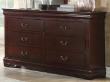 B3850 Louis Philip Bedroom Group Cherry