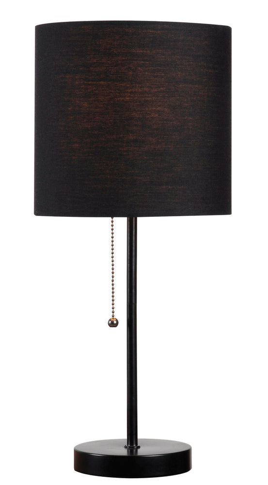 Table Tom Black Accent Lamp